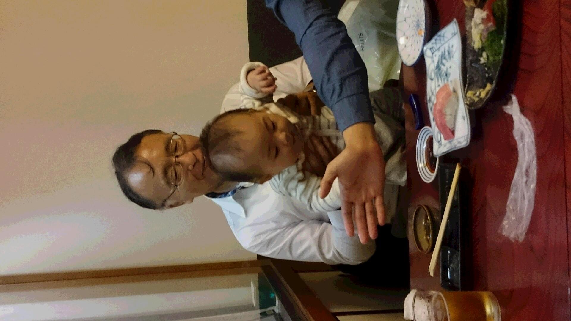 孫と主人の髪型が(笑)